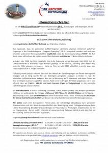 Informationsschreiben YAK-SERVICE ROTENBURG