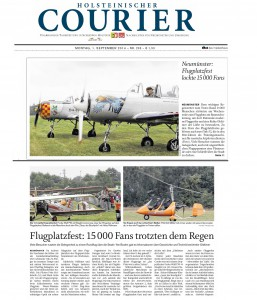 Holsteiner Courier 20140901